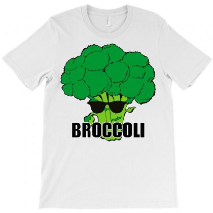 Broccoli Hip Hop T-shirt Designed By Silicaexil