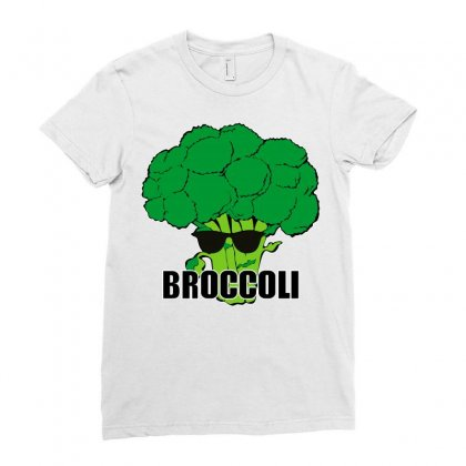 Broccoli Hip Hop Ladies Fitted T-shirt Designed By Silicaexil