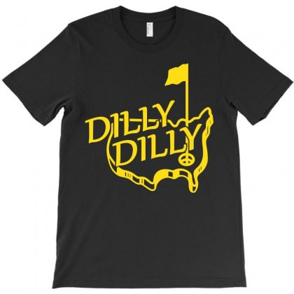Dilly Masters Golf T-shirt Designed By Silicaexil