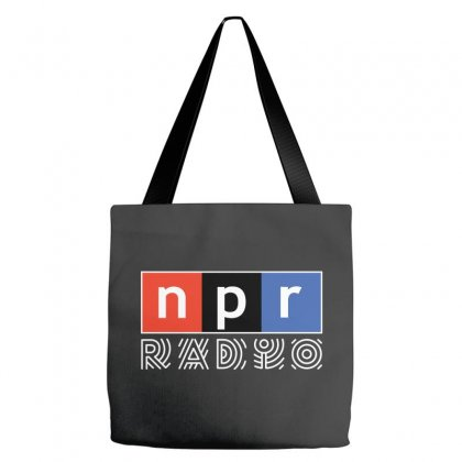 Npr - National Public Radio Tote Bags Designed By Motleymind
