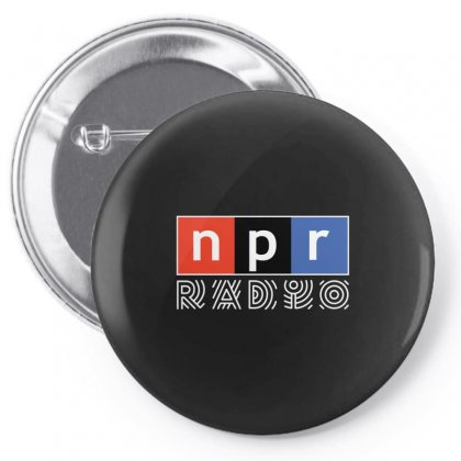 Npr - National Public Radio Pin-back Button Designed By Motleymind
