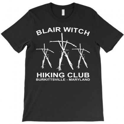 Blair Witch Hiking Club T-shirt Designed By Motleymind