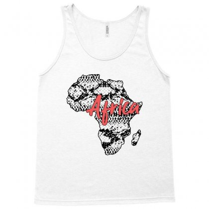 Africa Country Snake Pattern Tank Top Designed By Sengul