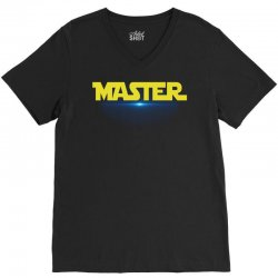 Master-Apprentice Star Wars Family Matching Father V-Neck Tee | Artistshot
