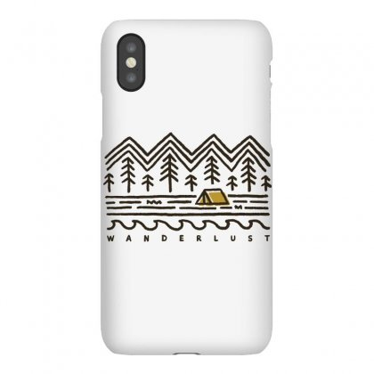 Wanderlust Iphonex Case Designed By Quilimo