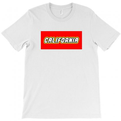 California T-shirt Designed By Tiococacola