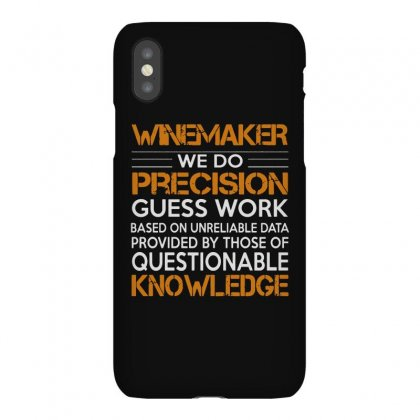 Awesome Shirt For Winemaker Iphonex Case Designed By Milanacr