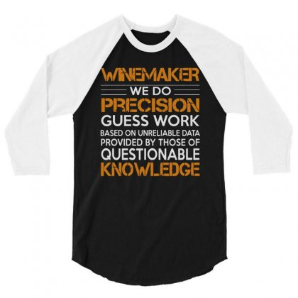Awesome Shirt For Winemaker 3/4 Sleeve Shirt Designed By Milanacr