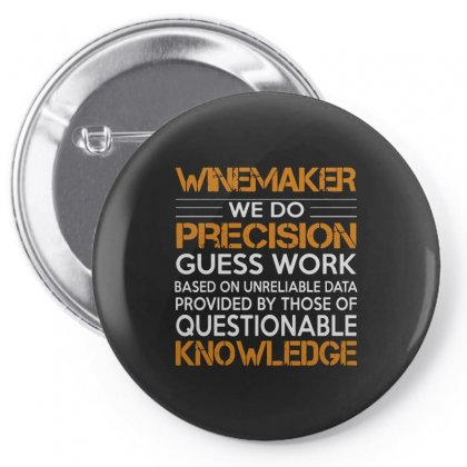 Awesome Shirt For Winemaker Pin-back Button Designed By Milanacr