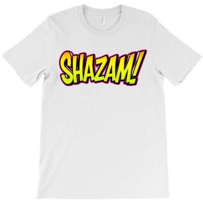 Shazam Neon Electric T-shirt Designed By Tiococacola