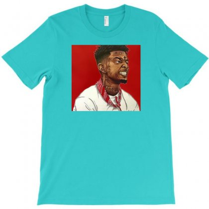 Free 21 Savage T-shirt Designed By Calistanugraha
