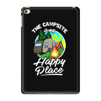The Campsite Is My Happy Place Ipad Mini 4 Case Designed By Feniavey