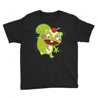 Nutty Nuttin' Wrong With Candy Youth Tee Designed By Gooseiant