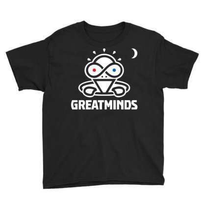Great Minds Youth Tee Designed By Gooseiant