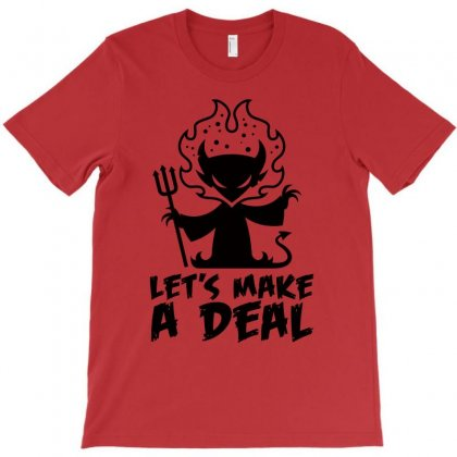 Deal With The Devil T-shirt Designed By Fizzgig