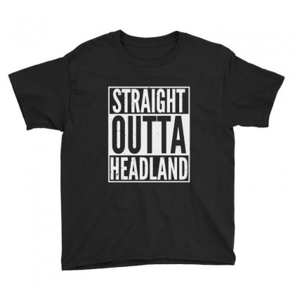 Straight Outta Headland Youth Tee Designed By Milanacr