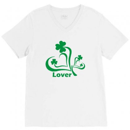 Lover Funny Tshirt V-neck Tee Designed By Alex