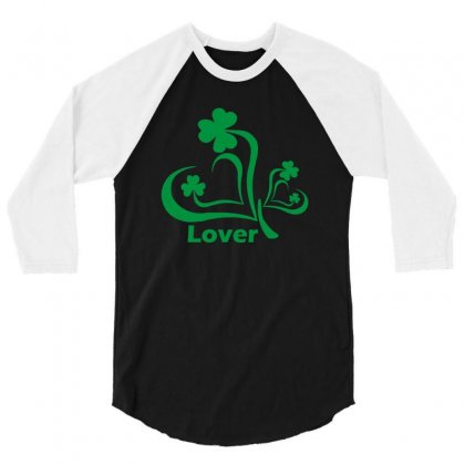Lover Funny Tshirt 3/4 Sleeve Shirt Designed By Alex