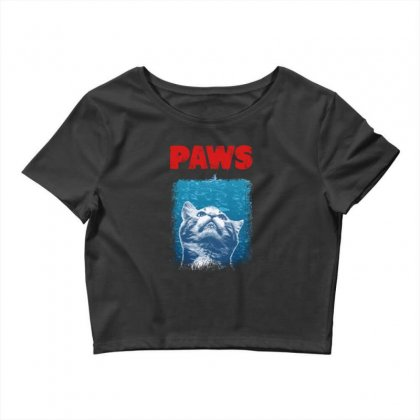 Paws Crop Top Designed By Feniavey