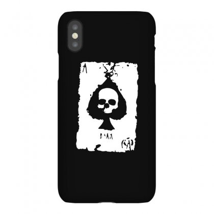 Ace Of Spades Iphonex Case Designed By Tee Shop