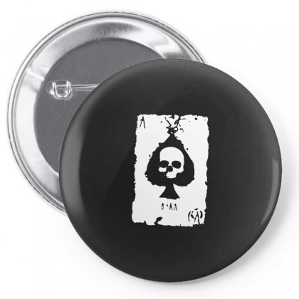 Ace Of Spades Pin-back Button Designed By Tee Shop