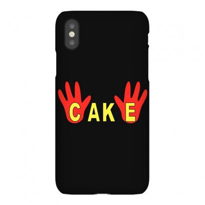 Burgers Cake Finger Iphonex Case Designed By Garnisflok