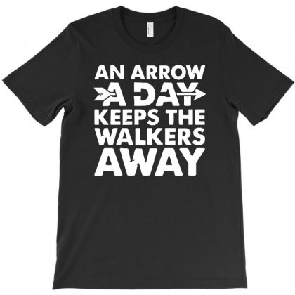 An Arrow A Day Zombie Dary T-shirt Designed By 4kum