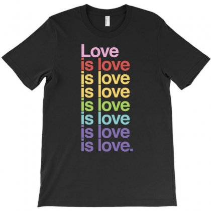 Love Is Love Lgbt T Shirt T-shirt Designed By Hung