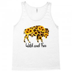 wild and free bison Tank Top | Artistshot