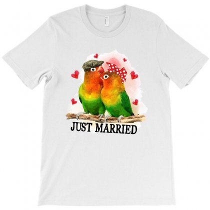 Love Married Bird T-shirt Designed By Sengul