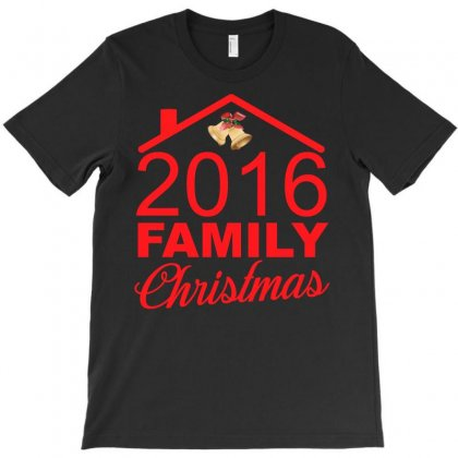 2016 Family Christmas T Shirt T-shirt Designed By Hung