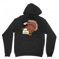 thanksgiving  i m not a turkey (disguised face don t gobble til you wo Unisex Hoodie | Artistshot