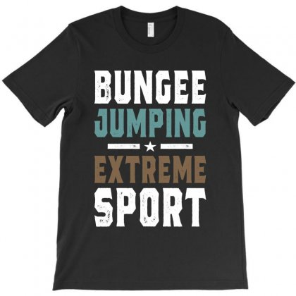 Bungee Jumping Design T-shirt Designed By Cidolopez