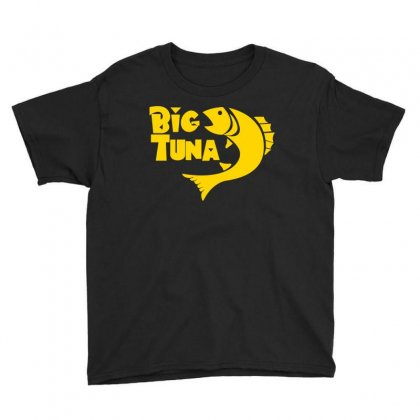 Big Tuna Youth Tee Designed By Flupluto