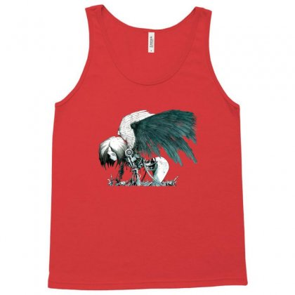 Battle Angel Official Tank Top Designed By Doniemichael