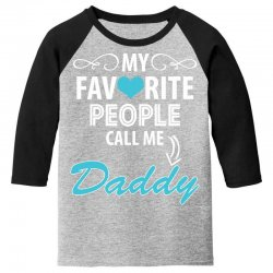 e9f7fccc Custom My Favorite People Call Me Daddy Youth Zipper Hoodie By ...