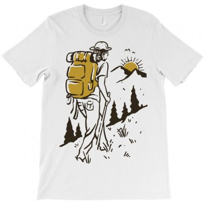 Hike Addiction T-shirt Designed By Quilimo