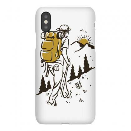 Hike Addiction Iphonex Case Designed By Quilimo