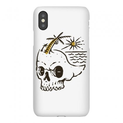 Skull Island Iphonex Case Designed By Quilimo