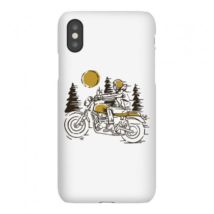 Classic Biker Iphonex Case Designed By Quilimo