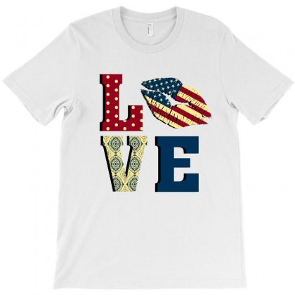 Love America T-shirt Designed By Sengul