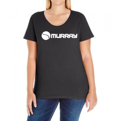 Murray Ladies Curvy T-shirt Designed By 4kum