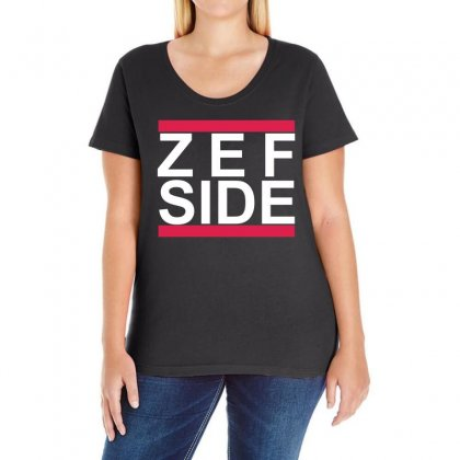 New Hot Zef Side Die Antwoord Ladies Curvy T-shirt Designed By 4kum