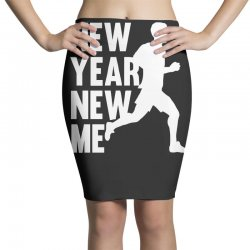 new year, new me running fitness Pencil Skirts | Artistshot