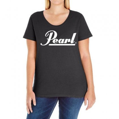 Pearl Drums Ladies Curvy T-shirt Designed By 4kum