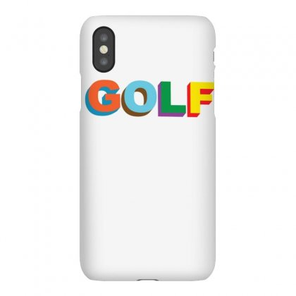 Golf-tyler, The Creator1 Iphonex Case Designed By Mdk Art