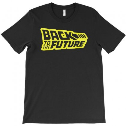 Retro Back To The Future T-shirt Designed By 4kum