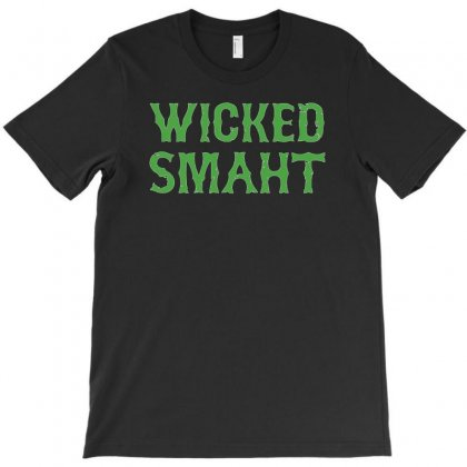 Wicked Smaht Funny T-shirt Designed By 4kum
