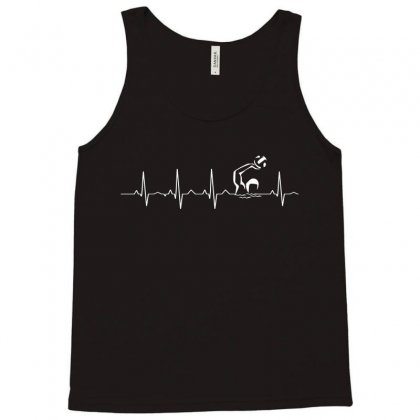 Water Polo Heartbeat T Shirt Tank Top Designed By Hung