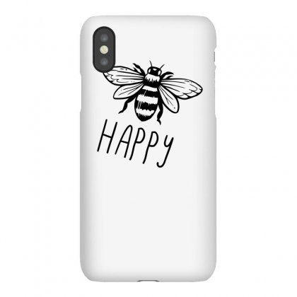 Bee Happy Matching Funny Tshirt Iphonex Case Designed By Alex
